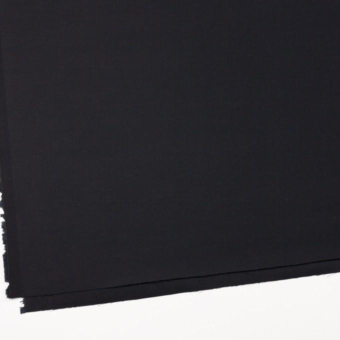 コットン×無地(ブラック)×サテン_全4色 イメージ2