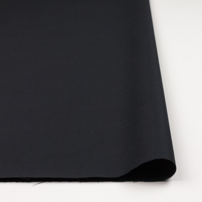 コットン×無地(ブラック)×サテン_全4色 イメージ3
