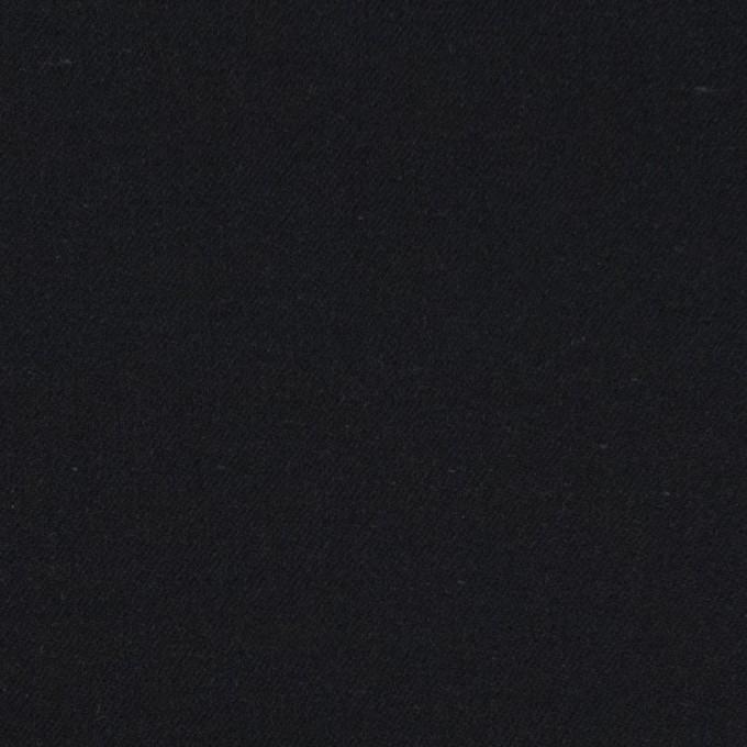 コットン×無地(ブラック)×サテン_全4色 イメージ1