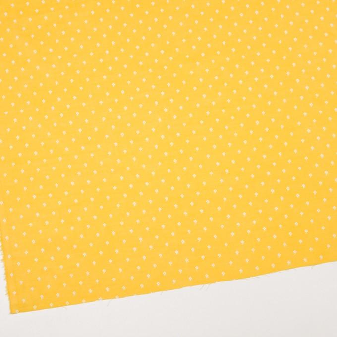 コットン×フラワー(イエロー)×ボイル_全2色 イメージ2