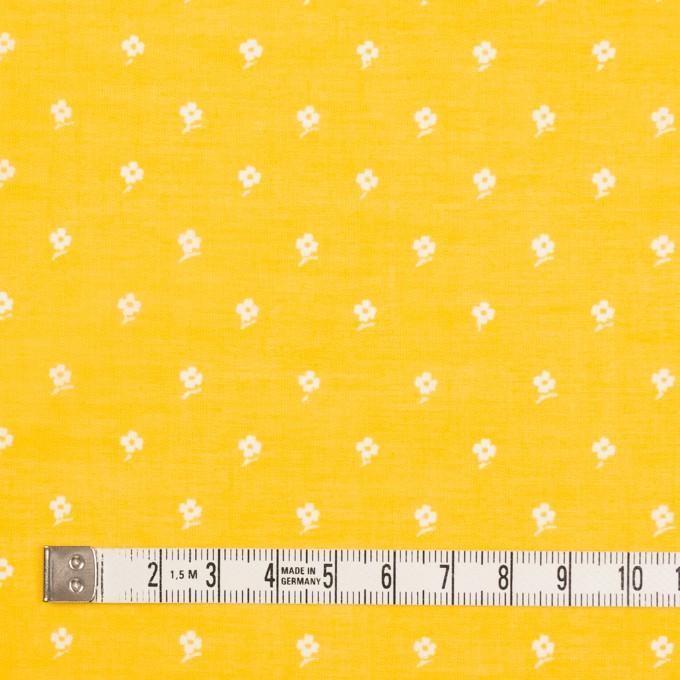 コットン×フラワー(イエロー)×ボイル_全2色 イメージ4