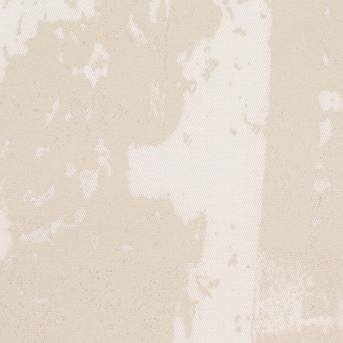 コットン&ポリウレタン×ペイント(キナリ)×ギャバジン・ストレッチ_イタリア製 イメージ1