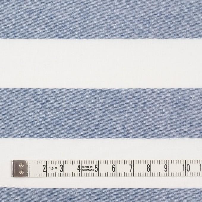 コットン×ボーダー(インディゴブルー)×シーチング イメージ4