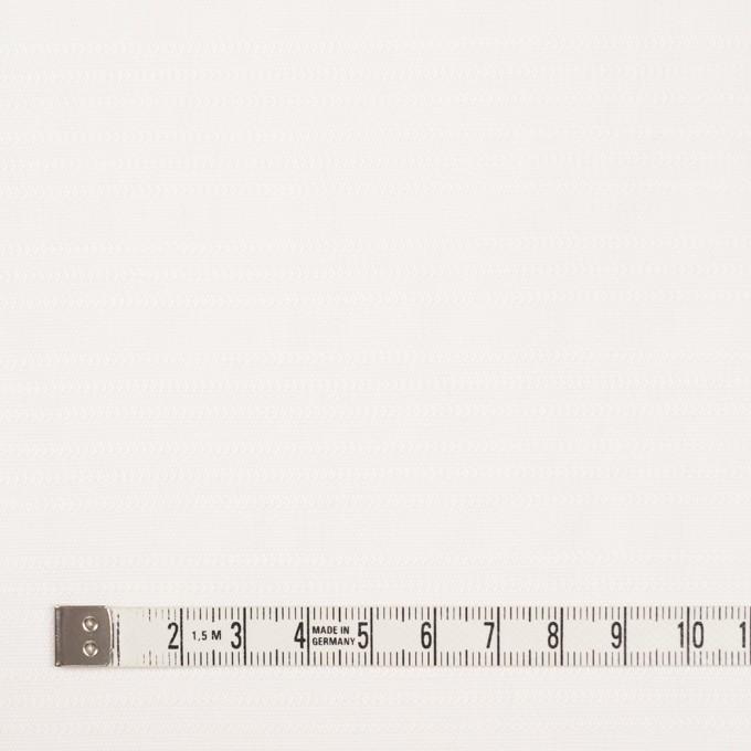 コットン×無地(オフホワイト)×かわり織_イタリア製 イメージ4