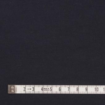 コットン&ナイロン×無地(アッシュネイビー)×バックサテンシャンタン_全2色_イタリア製 サムネイル4