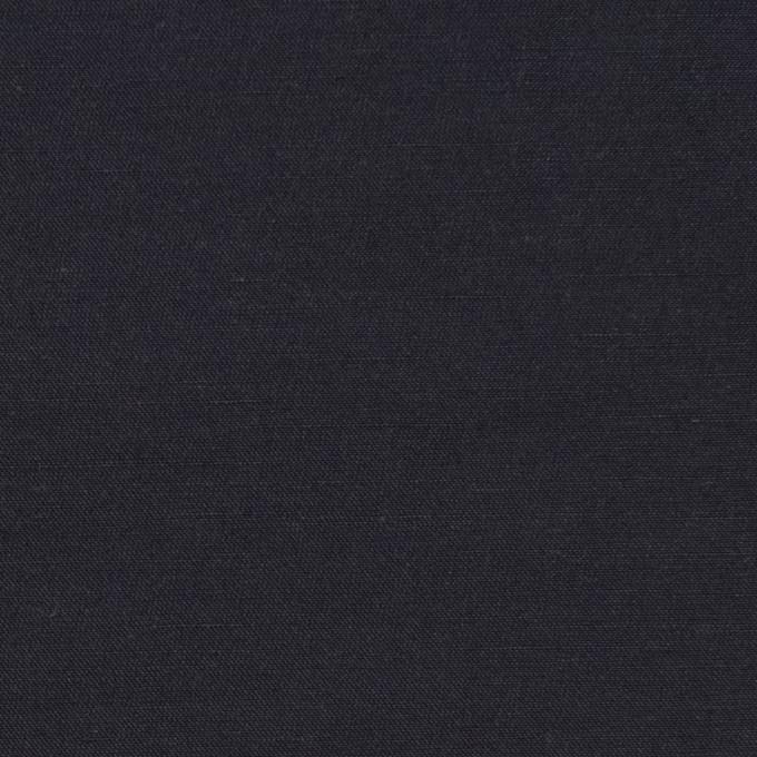 コットン&ナイロン×無地(アッシュネイビー)×バックサテンシャンタン_全2色_イタリア製 イメージ1
