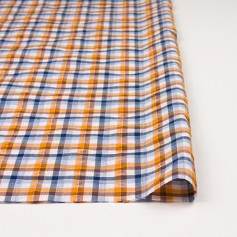コットン×チェック(オレンジ&ブラウン)×サッカー_全3色 サムネイル3