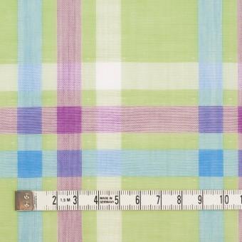 コットン×チェック(マスカット、グレープ&サワー)×Wガーゼ サムネイル4