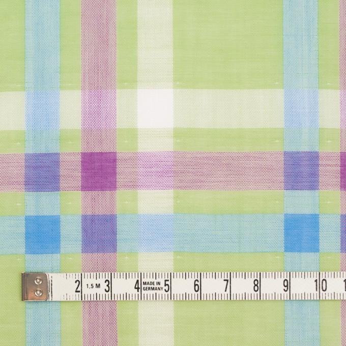 コットン×チェック(マスカット、グレープ&サワー)×Wガーゼ イメージ4