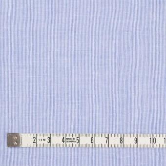 コットン&リネン混×ストライプ(ブルー)×ローンワッシャー サムネイル4