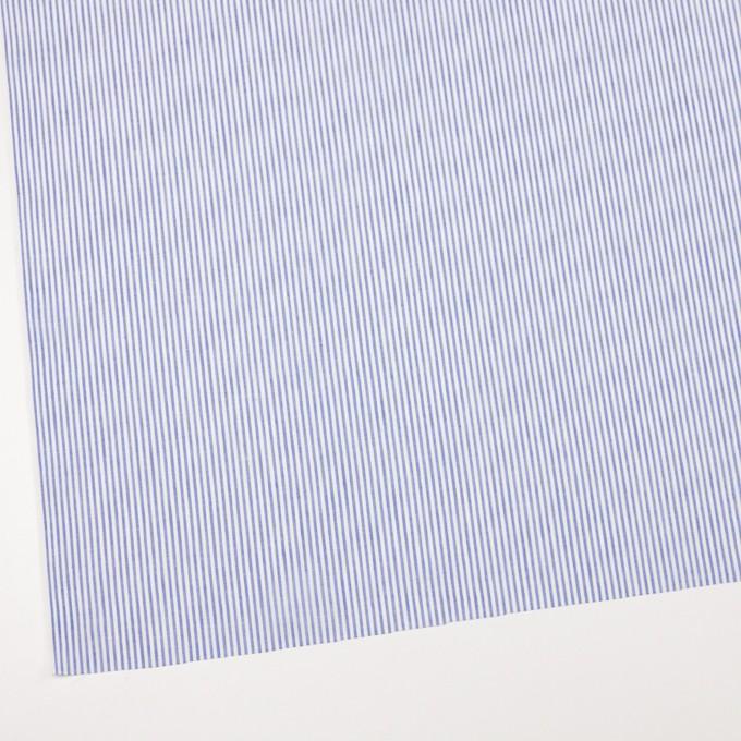 コットン&リネン×ストライプ(ブルー)×ローン イメージ2