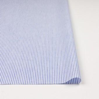 コットン&リネン×ストライプ(ブルー)×ローン サムネイル3
