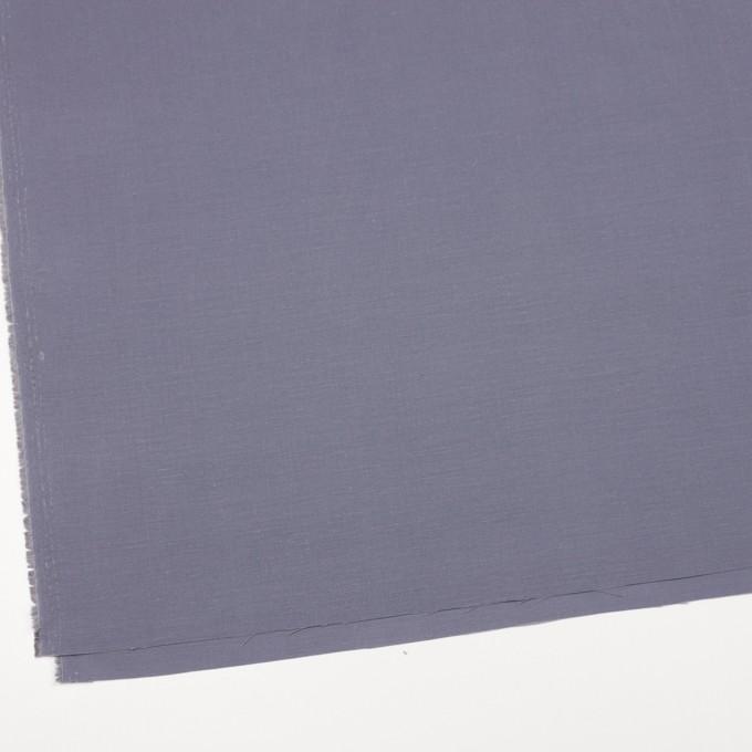 キュプラ&リネン混×無地(ラベンダーグレー)×ブロード_全2色 イメージ2