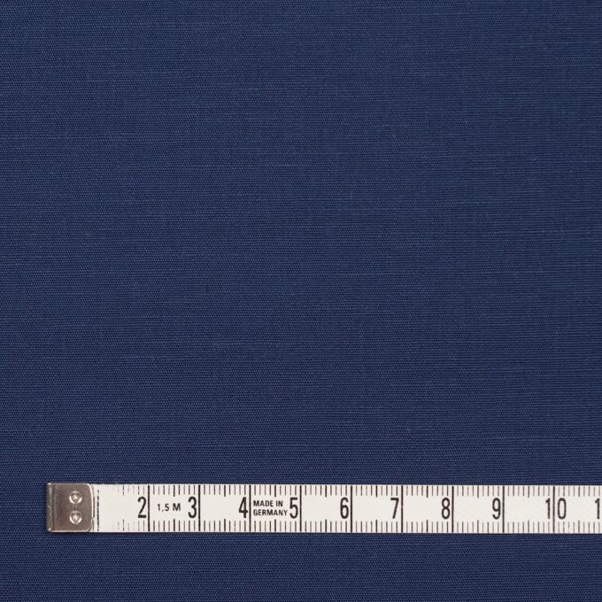 キュプラ&リネン混×無地(ネイビー)×ブロード_全2色 イメージ4