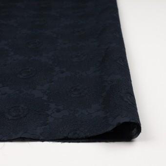コットン×フラワー(ダークネイビー)×ローン刺繍_全3色 サムネイル3