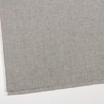 コットン×ミックス(オフホワイト&チャコール)×かわり織 サムネイル2