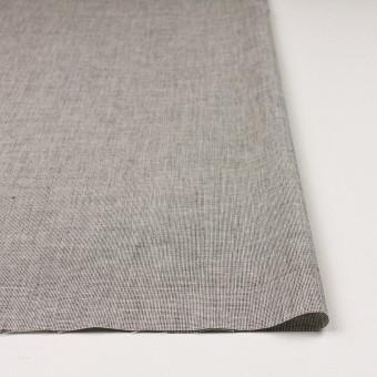 コットン×ミックス(オフホワイト&チャコール)×かわり織 サムネイル3