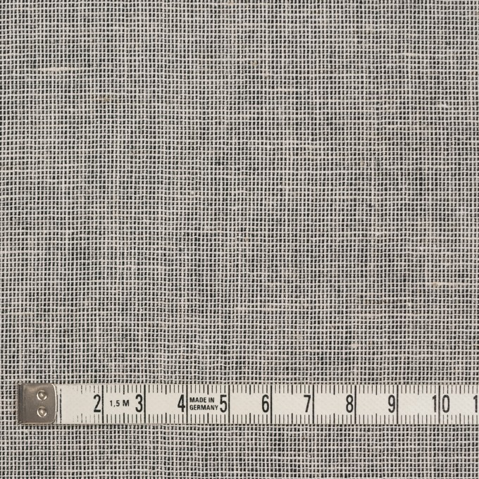 コットン×ミックス(オフホワイト&チャコール)×かわり織 イメージ4