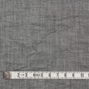 コットン&リネン×無地(グレー)×ボイルワッシャー サムネイル4