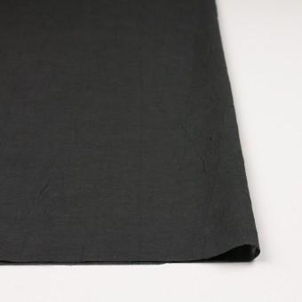 コットン&リネン×無地(チャコール)×ボイルワッシャー サムネイル3