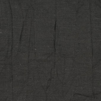 コットン&リネン×無地(チャコール)×ボイルワッシャー サムネイル1
