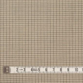 ウール×チェック(ビスケット)×ポプリン_全2色_イタリア製 サムネイル4
