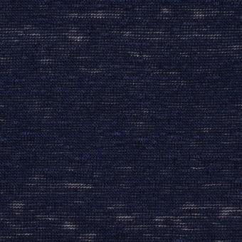 リネン×無地(ダークネイビー)×天竺ニット サムネイル1