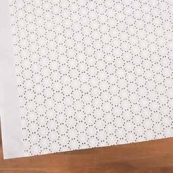 コットン×フラワー(オフホワイト)×ローン刺繍_全3色 サムネイル2