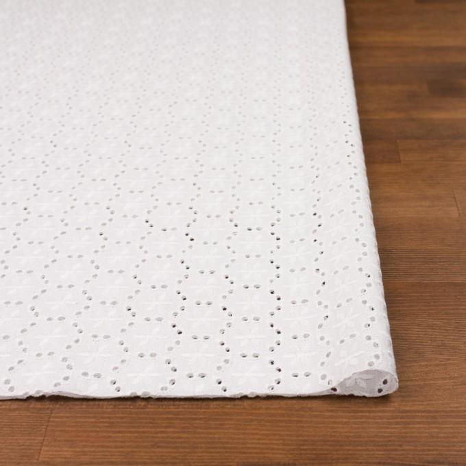 コットン×フラワー(オフホワイト)×ローン刺繍_全3色 イメージ3