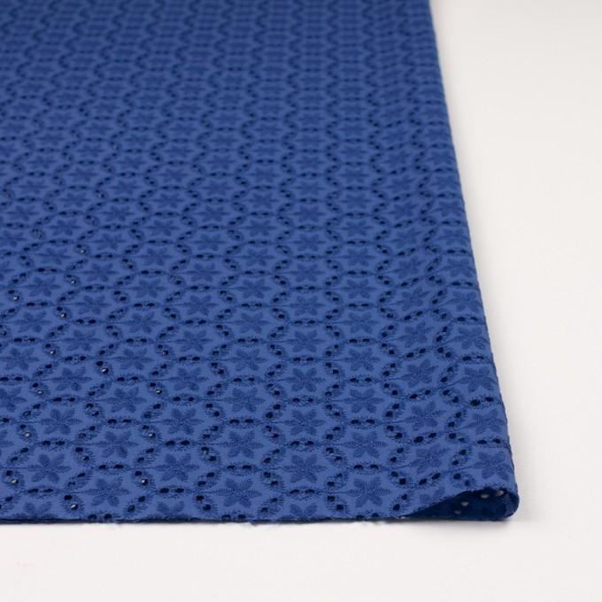 コットン×フラワー(マリンブルー)×ローン刺繍_全3色 イメージ3