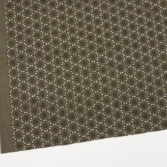 コットン×フラワー(カーキグリーン)×ローン刺繍_全3色 サムネイル2