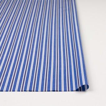 コットン×ストライプ(ブルー&ネイビー)×ブロード サムネイル3