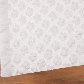 コットン×フラワー(オフホワイト)×ボイルシャーリング刺繍 サムネイル2