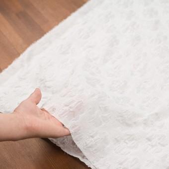 コットン×フラワー(オフホワイト)×ボイルシャーリング刺繍 サムネイル5