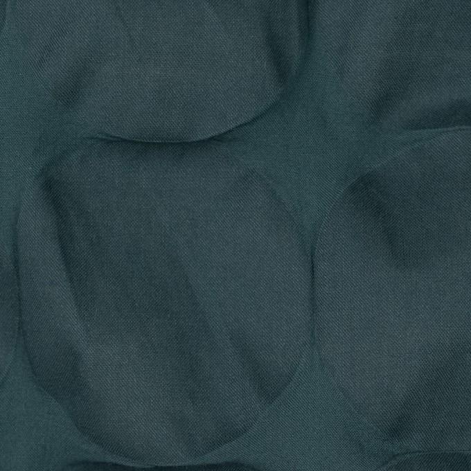 コットン×サークル(スレートグリーン)×ローン_塩縮加工_全3色 イメージ1