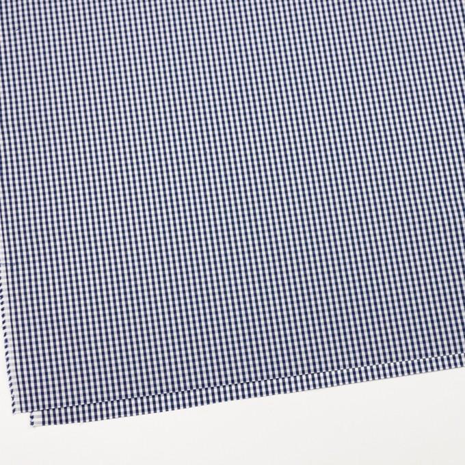 コットン×チェック(ネイビー)×ブロード イメージ2