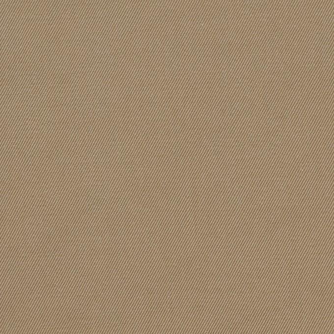 コットン×無地(カーキベージュ&アプリコット)×シャンブレーチノクロス_全3色 イメージ1