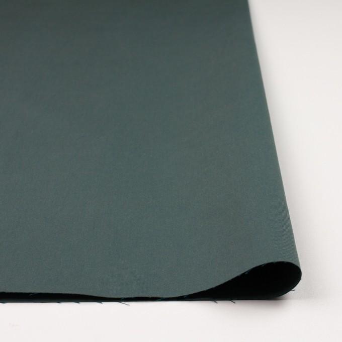 コットン×無地(スレートグリーン&マリンブルー)×シャンブレーチノクロス_全3色 イメージ3