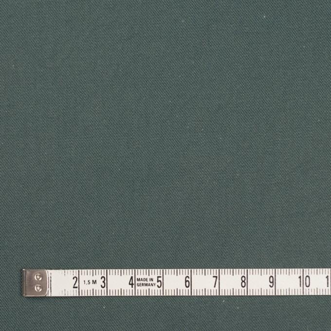 コットン×無地(スレートグリーン&マリンブルー)×シャンブレーチノクロス_全3色 イメージ4