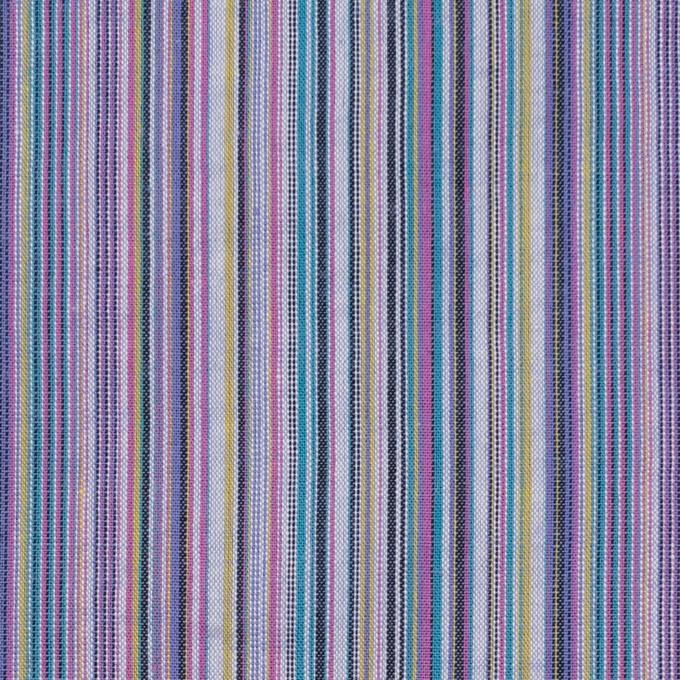 コットン×ストライプ(バイオレット)×サッカー_全2色 イメージ1