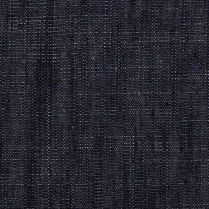 リネン×無地(インディゴ)×キャンバス イメージ1