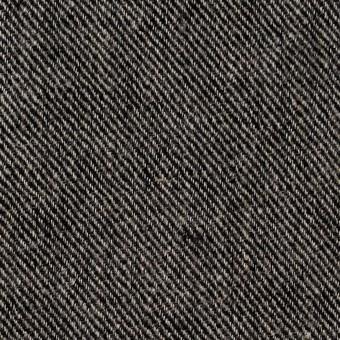 リネン×無地(チャコール)×サージ_全2色 サムネイル1