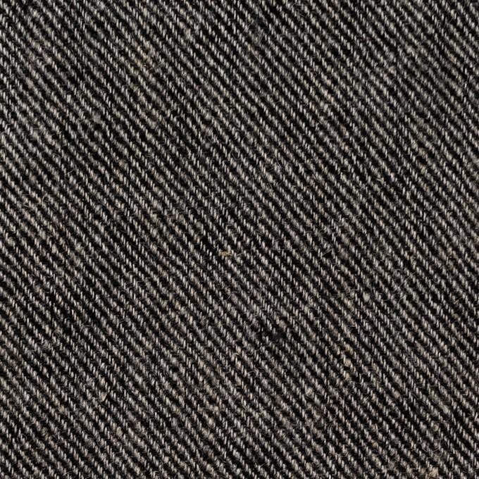 リネン×無地(チャコール)×サージ_全2色 イメージ1