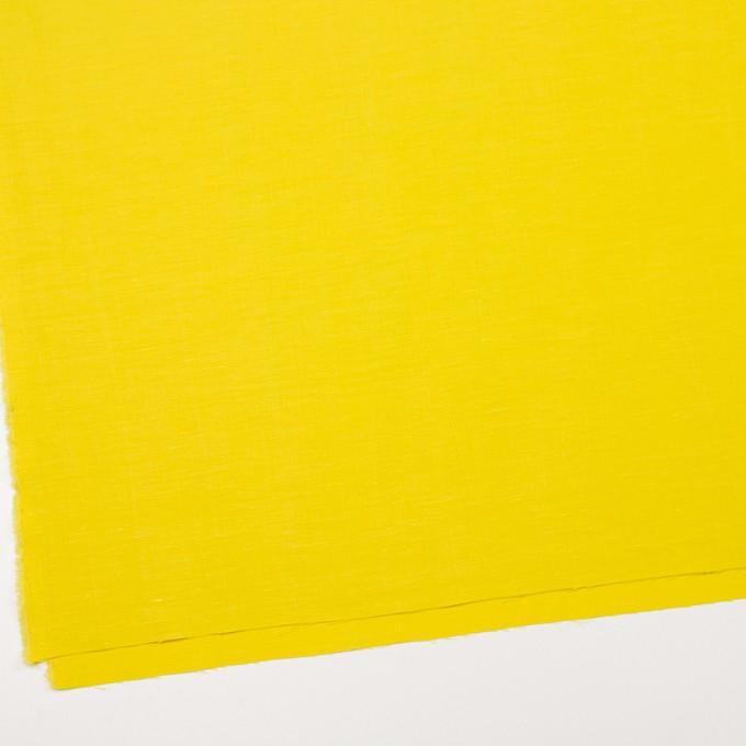 キュプラ&レーヨン×無地(レモンイエロー)×シャンタン_イタリア製 イメージ2