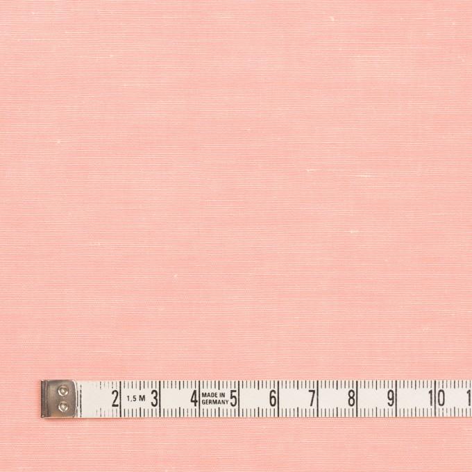 コットン&シルク×無地(ベビーピンク)×シャンタン_イタリア製 イメージ4