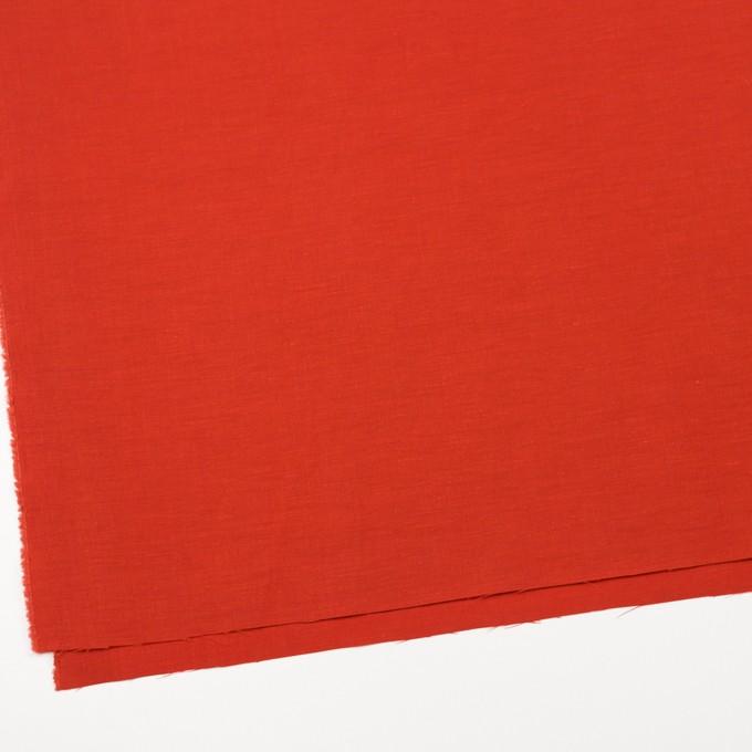 キュプラ&コットン混×無地(トマト)×シャンタン_全2色_イタリア製 イメージ2