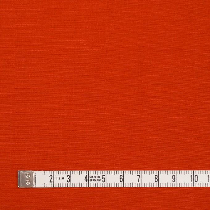 キュプラ&コットン混×無地(トマト)×シャンタン_全2色_イタリア製 イメージ4