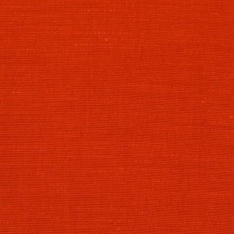キュプラ&コットン混×無地(トマト)×シャンタン_全2色_イタリア製 サムネイル1