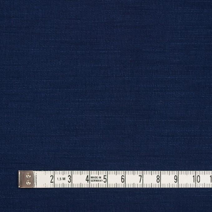 キュプラ&コットン混×無地(ネイビー)×シャンタン_全2色_イタリア製 イメージ4