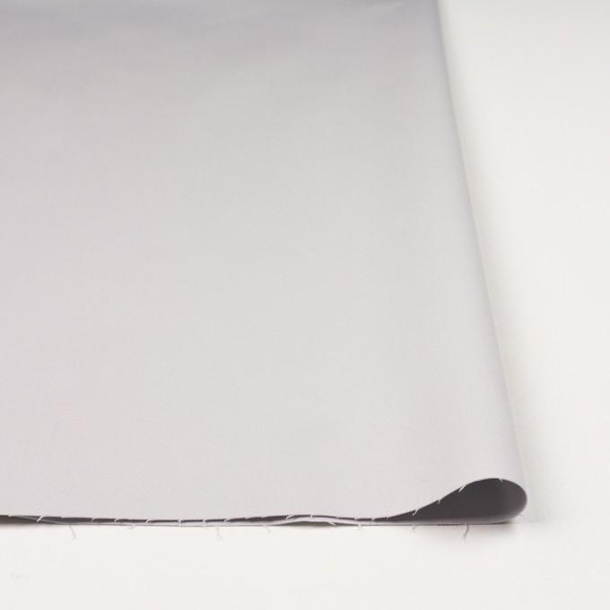 コットン&ポリノジック混×無地(シルバーグレー)×サテンストレッチ_全2色 イメージ3